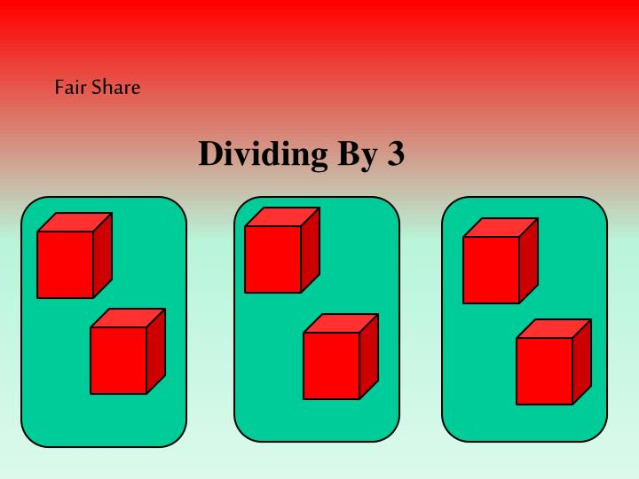 Dividing By 3