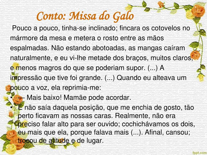 Conto: Missa do Galo