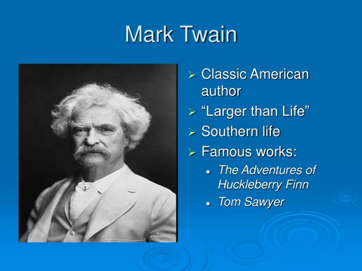 Classic American author