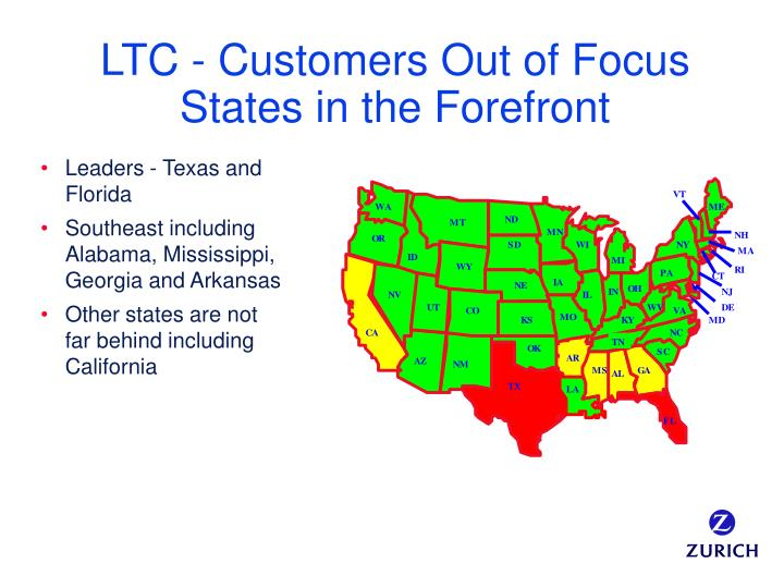 LTC - Customers Out of Focus