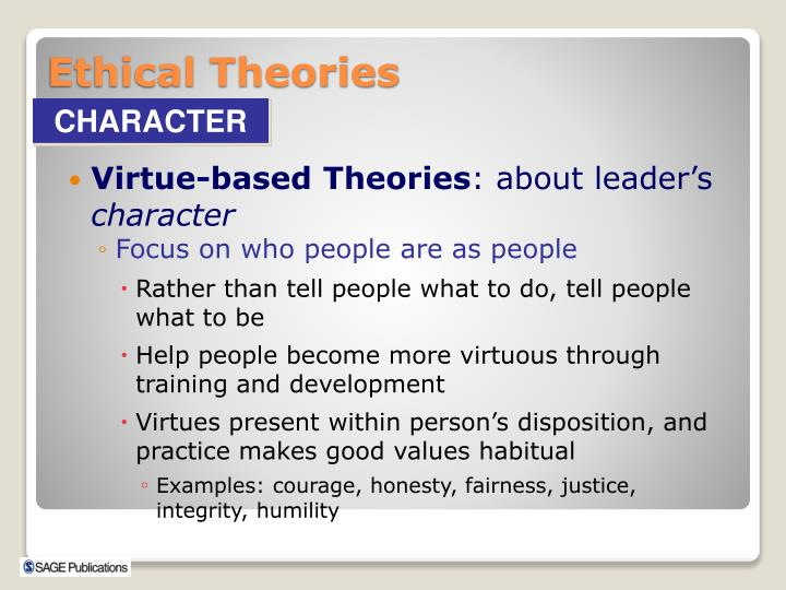 Virtue-based Theories