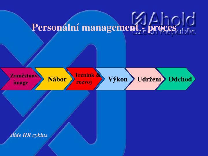 Personální management - proces