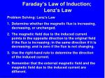 faraday s law of induction lenz s law