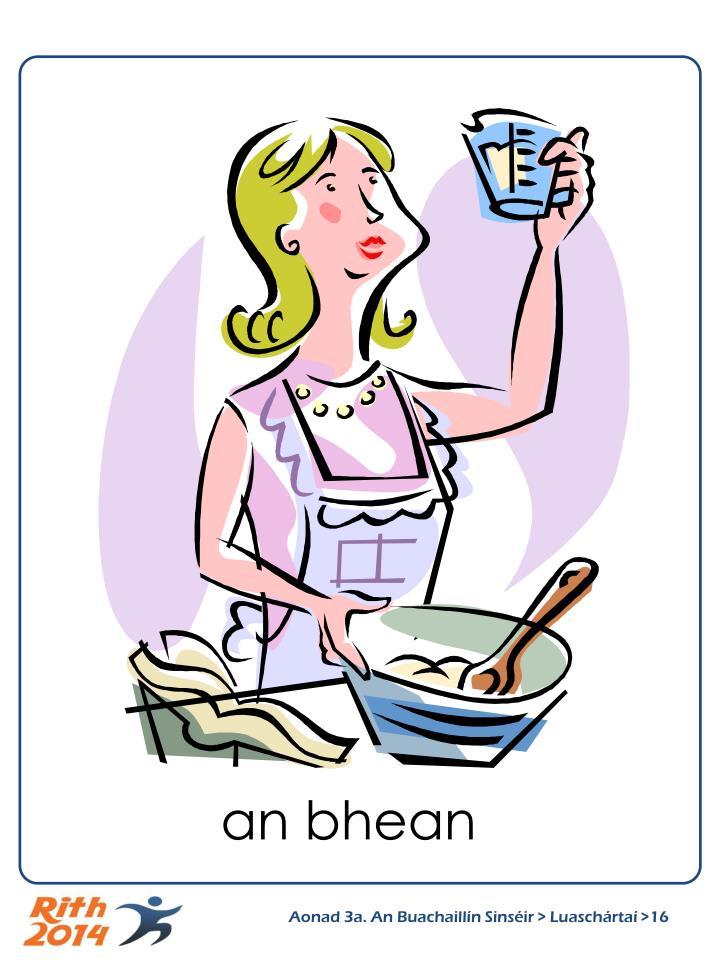 an bhean