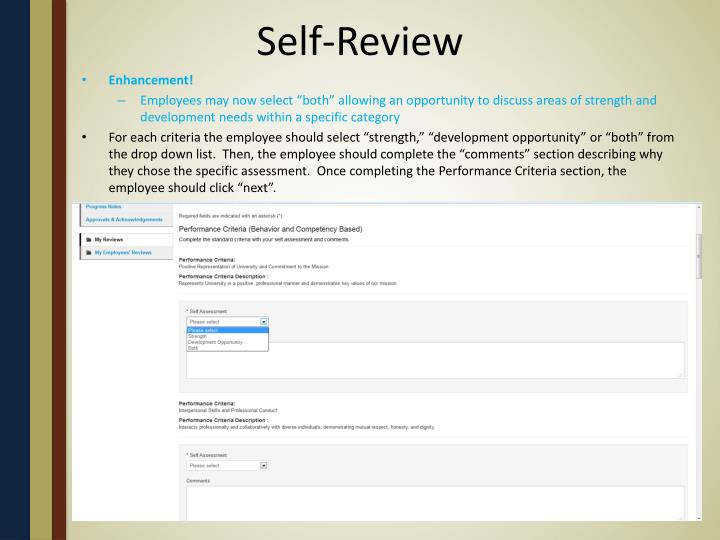 Self-Review