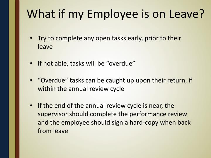What if my Employee is on Leave?