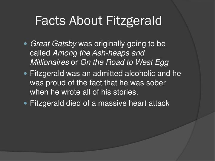 Facts About Fitzgerald