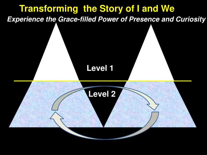 Transforming  the Story of I and We