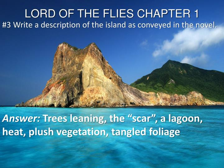 LORD OF THE FLIES CHAPTER