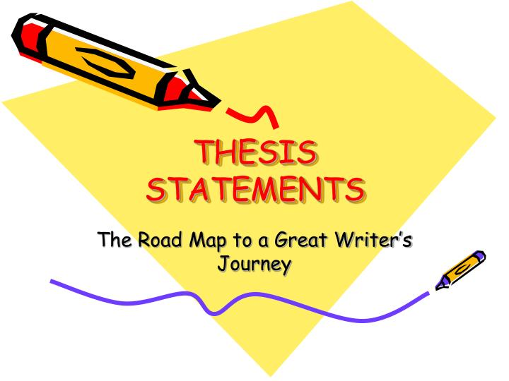 Writing A Good Thesis