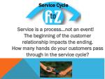 service cycle