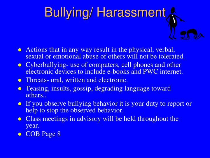 Bullying/ Harassment