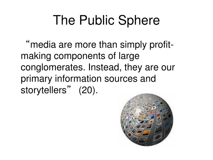 The Public Sphere