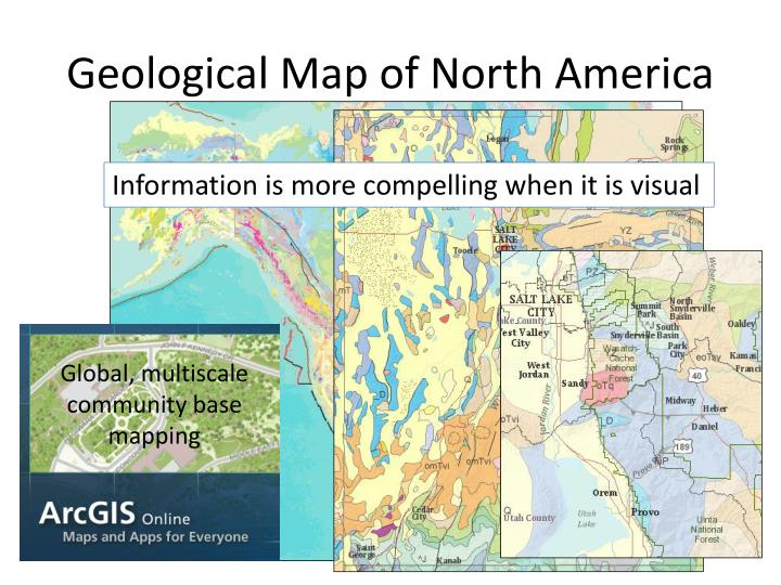 Geological Map of North America