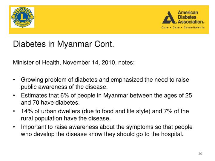 Diabetes in
