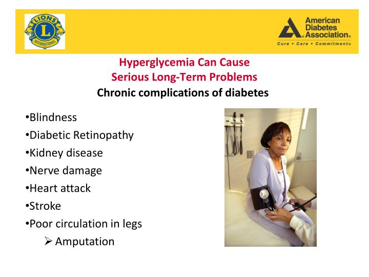 Hyperglycemia Can Cause