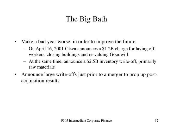 The Big Bath