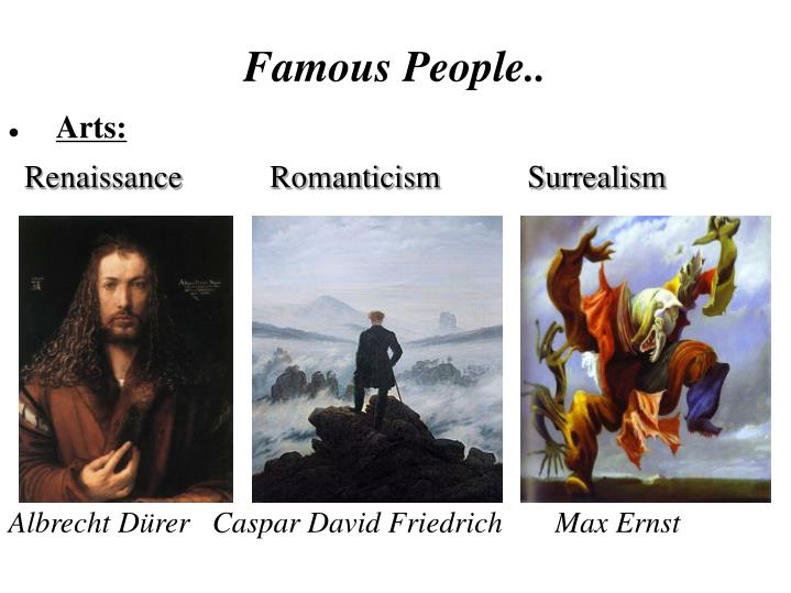 Famous People..