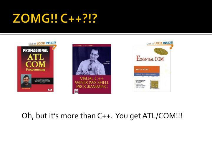 ZOMG!! C++?!?