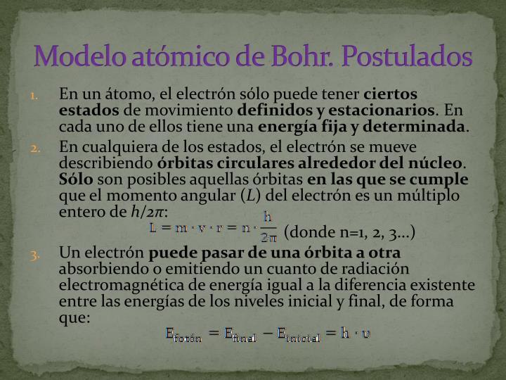 Modelo atómico de