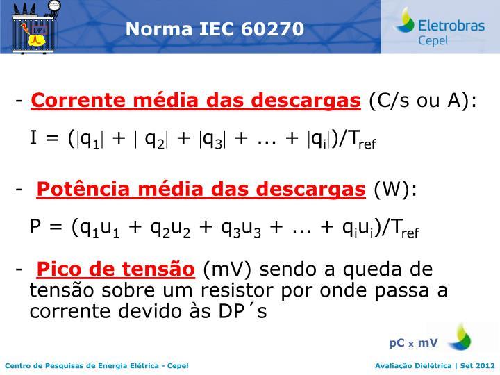 Norma IEC 60270