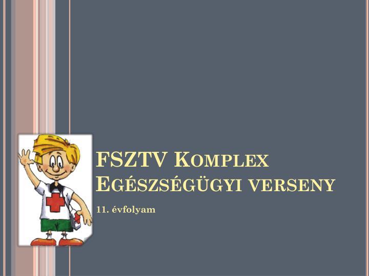 FSZTV Komplex Egészségügyi verseny