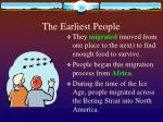 the earliest people3