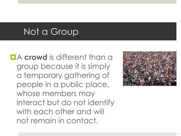 Not a Group
