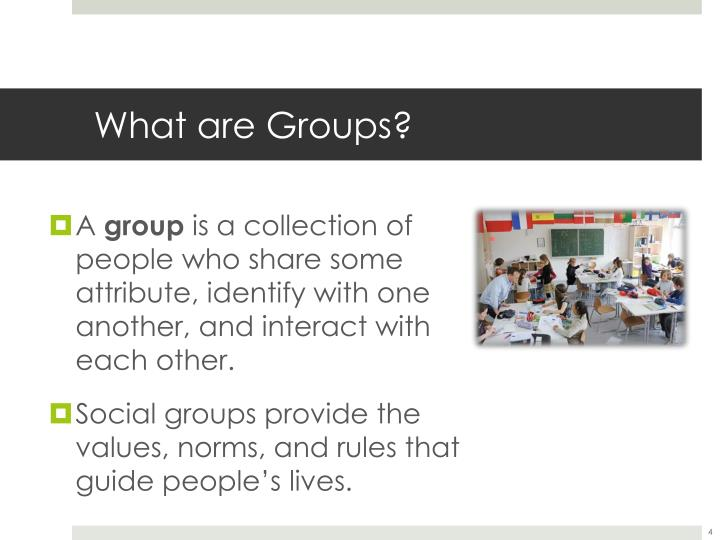 What are Groups?