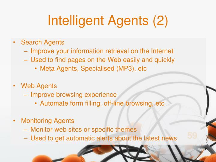 Intelligent Agents (2)