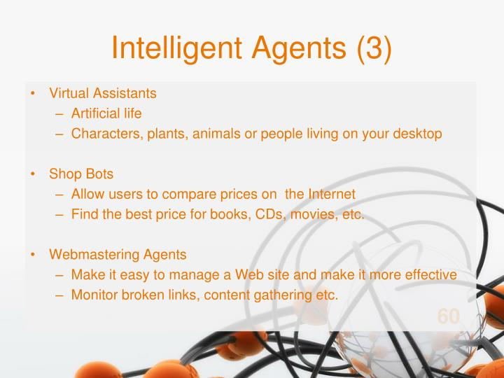 Intelligent Agents (3)