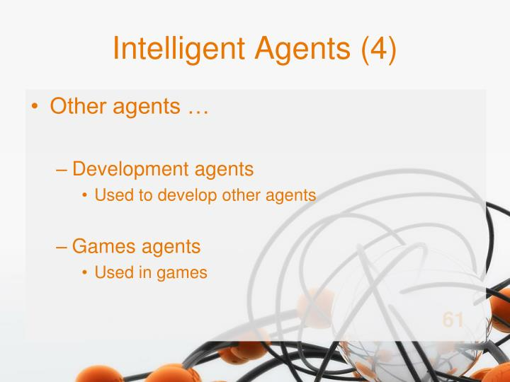 Intelligent Agents (4)