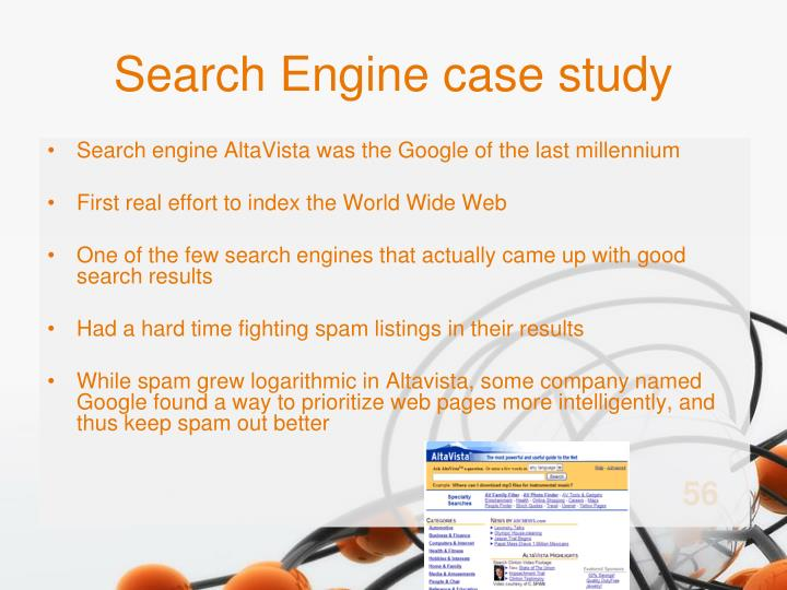 Search Engine case study