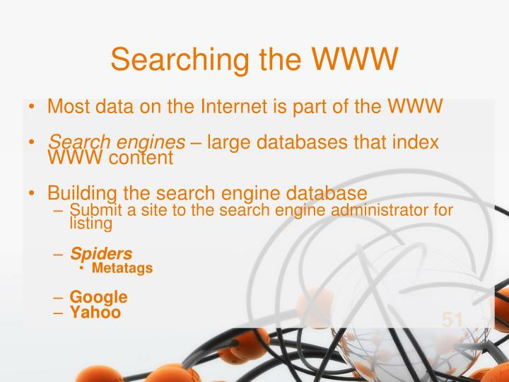 Searching the WWW