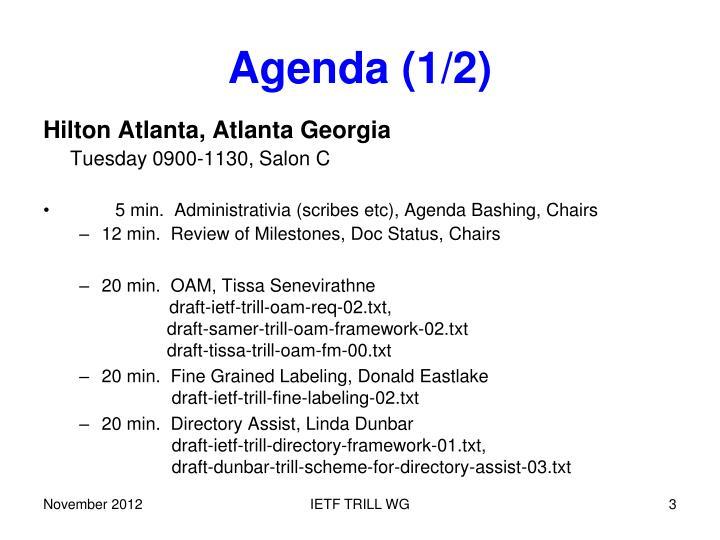 Agenda (1