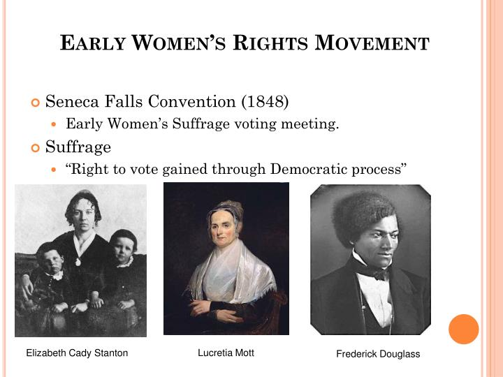 Early Women's Rights Movement