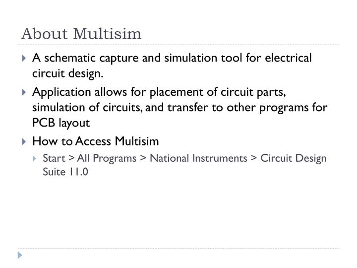 About multisim