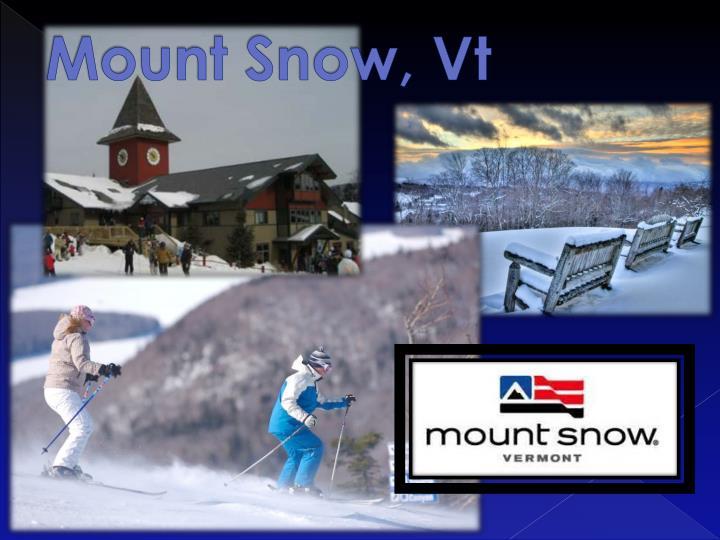 Mount Snow,