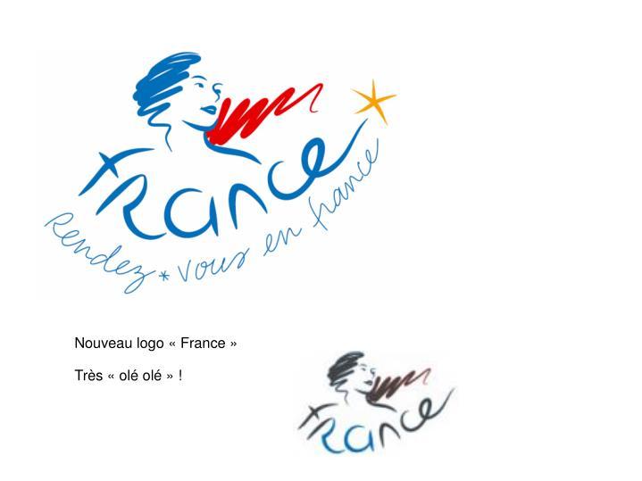 Nouveau logo «France»