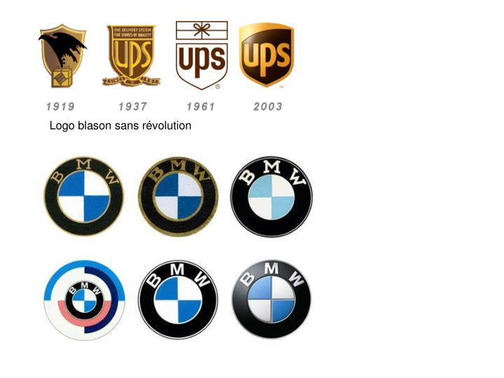 Logo blason sans révolution
