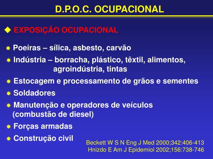 D.P.O.C. OCUPACIONAL