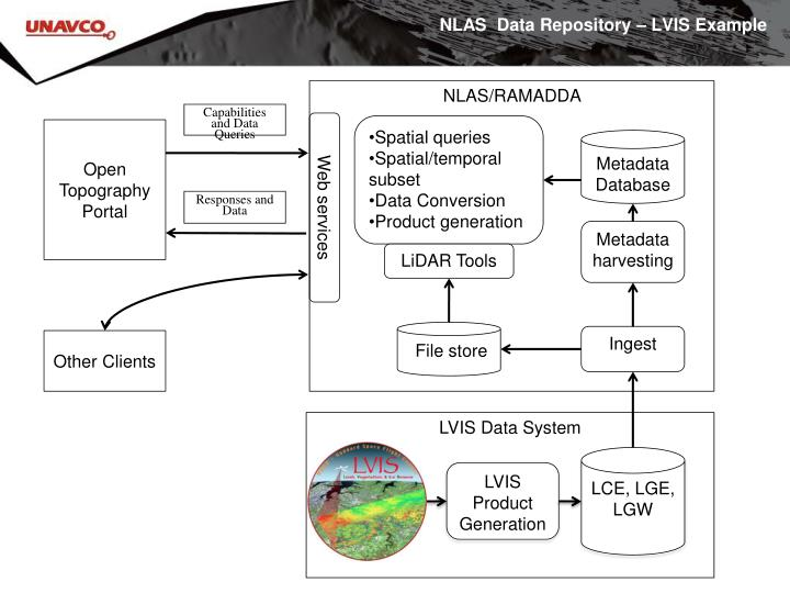 NLAS  Data Repository – LVIS Example