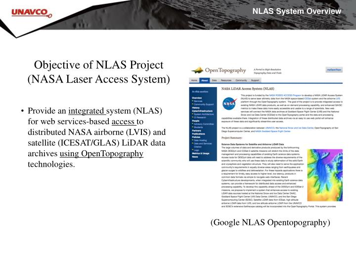 NLAS System Overview