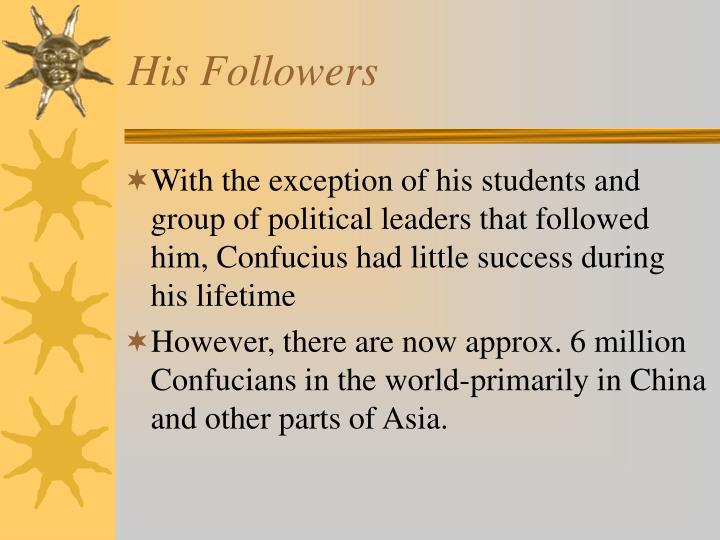 His Followers