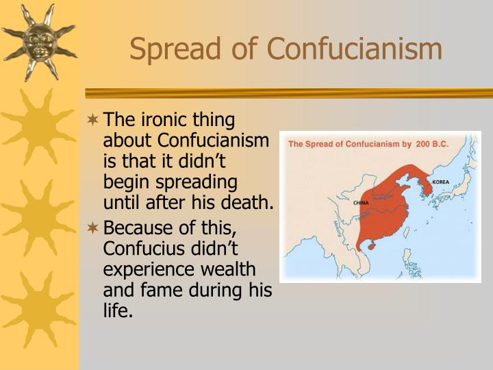 Spread of Confucianism
