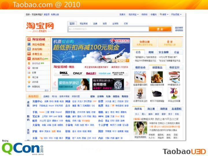 Taobao.com @ 2010