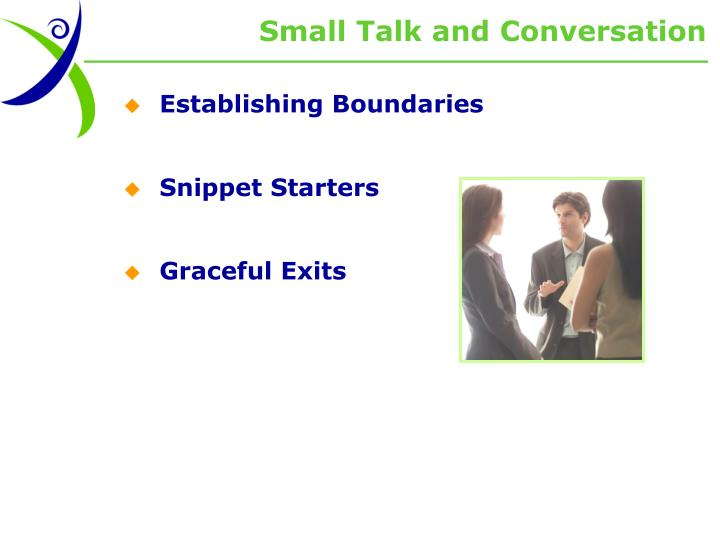 Small Talk and Conversation