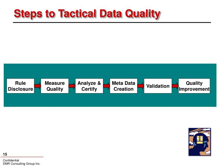 Steps to Tactical Data Quality
