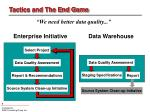 tactics and the end game1