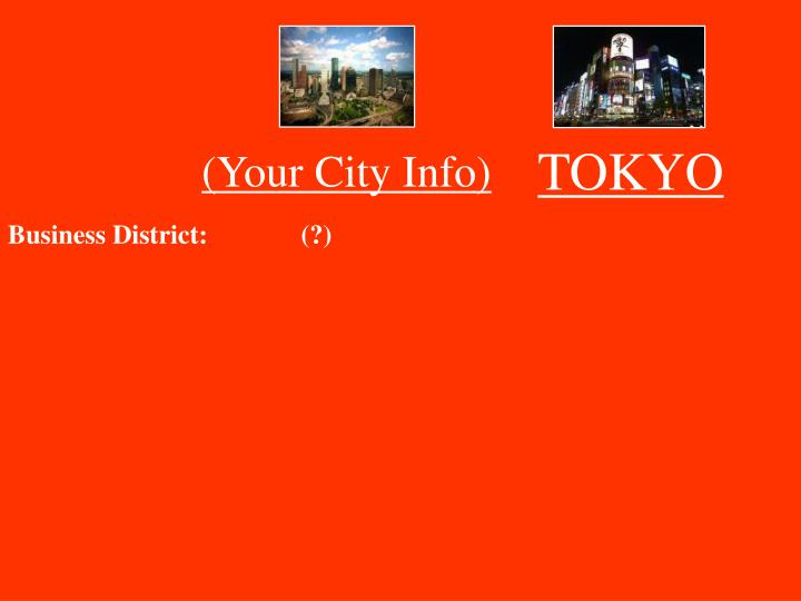 (Your City Info)